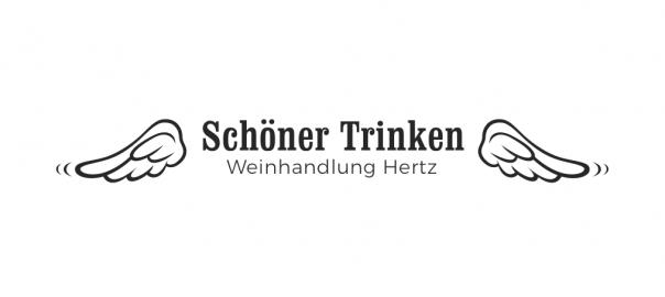 Schöner Trinken - Weinhandlung Hertz Logo